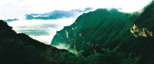 万源市:大巴山风景